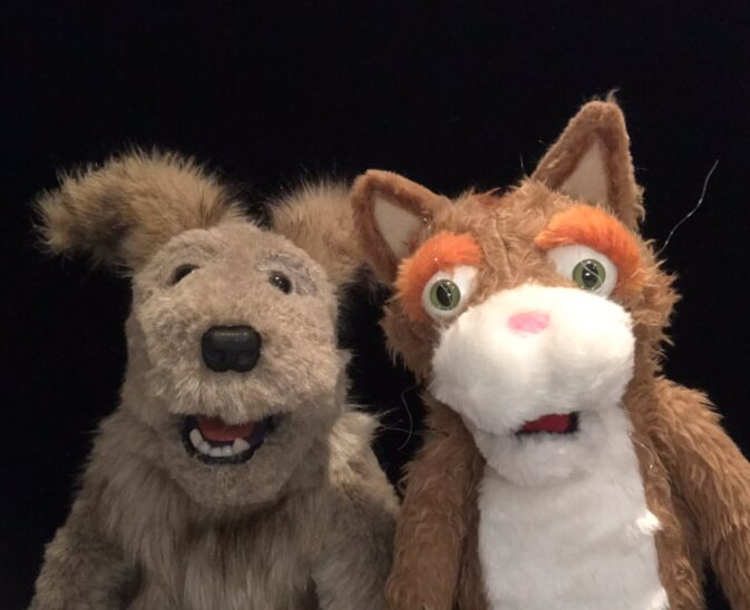 Photo: Mentoring & Puppets with Proud and Loud Arts
