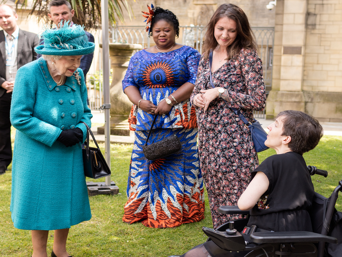 Photo: A Royal Meeting for Proud and Loud Arts